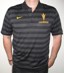 Nike BlackStriped Polo